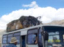 Jeff Bock touring bike | cycle touring Karakorun Highway