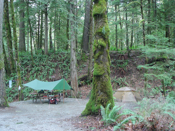 Stoltz Pool Provincial Campground | fav campground | cycle touring Vancouver Island