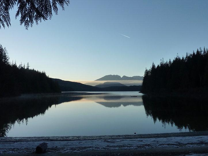 Stella Lake Rec Camp | fav bikepacking ride | cycle touring Vancouver Island