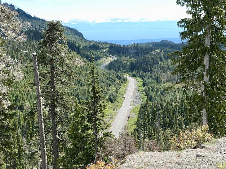 Cycle touring Strathcona Parkcona | bikepacking Mt Washington