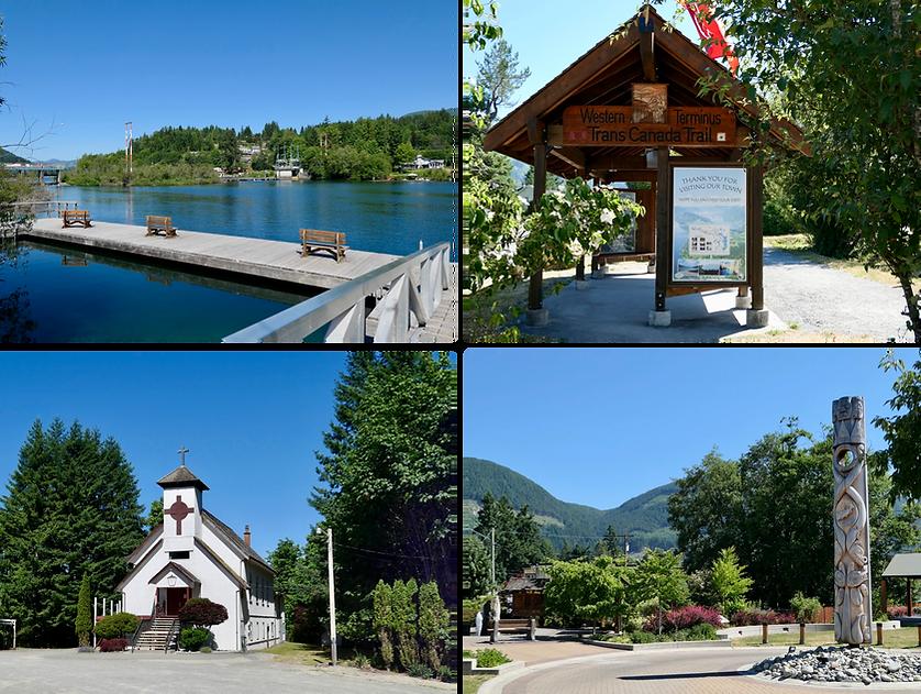 Town of Cowichan Lake | cycling Cowichan Lake | cycle touring Vancouver Island