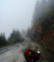 Climb from Nahmint Lake to Gracie Lake | backroads cycling west from Port Alberni