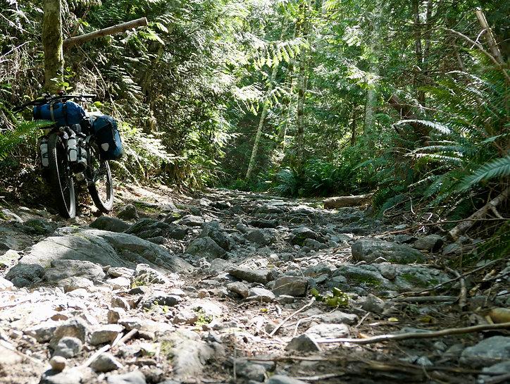 Track to Theodosia Inlet | bikepacking Theodosia