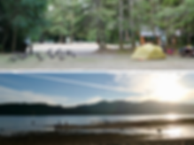 Porpoise Bay Provincial Campground | cycle touring Sunshine Coast | cycling Sechelt