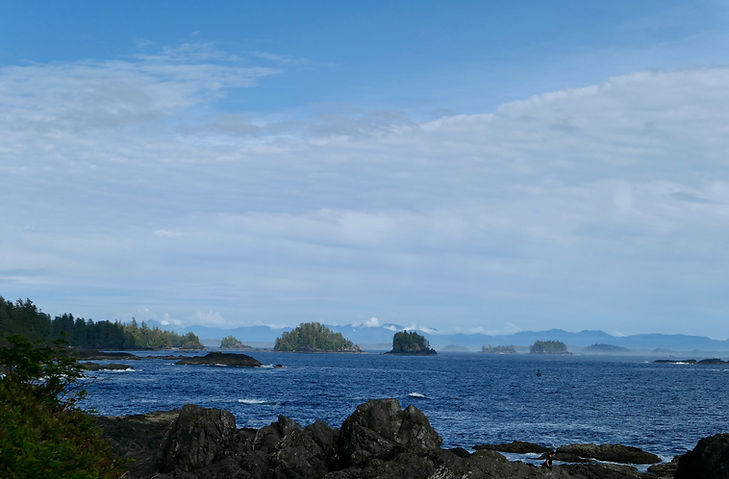 Broken Islands, south of Ucluelet | cycling Tofino & Ucluelet | Pacific Rim National Park | cycle touring Vancouver Island