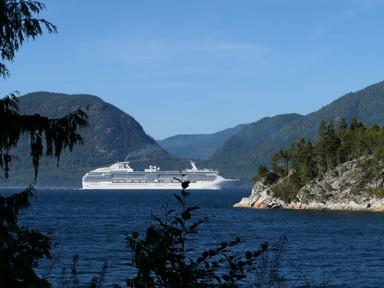 A grand lady along Johnstone Strait