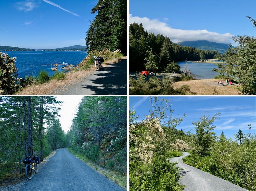 South Vancouver Island photos | bikepacking south Vancouver Island backroads | cycle touring