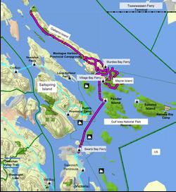 Galiano & Mayne Islands