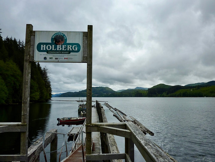 Holberg village | bikepacking NW Vancouver Island | backroad cycle touring