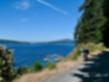 Galloping Goose Trail to Sooke | cycle touring south Vancouver Island