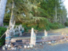 Bere Point Regional Campground | Malcolm Island | cycle touring NE Vancouver Island