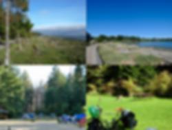Rathtrevor Provincial Park Camp, Parksville, old Island Highway, central Vancouver Island, bike tour, Parksville