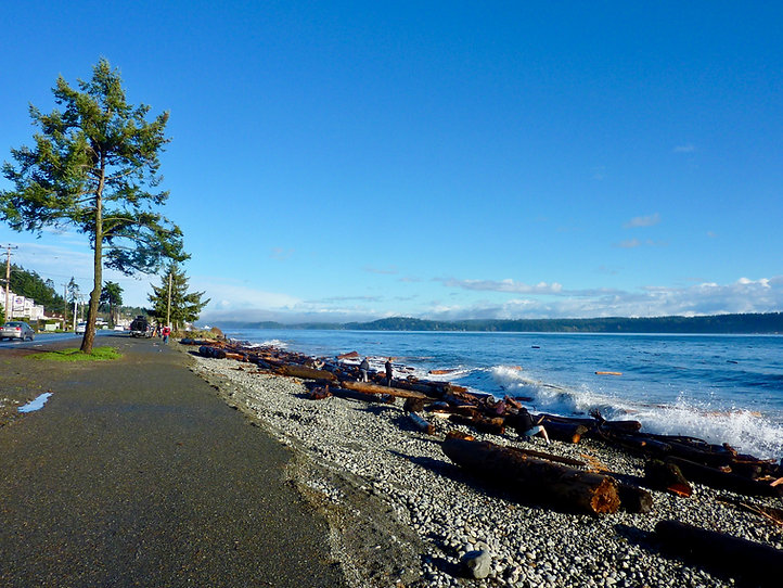 Rotary Seawalk, Campbell River | cycle touring Campbell Rver