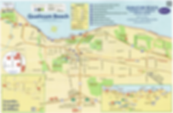 Qualicum Beach cycling routes map | cycle touring Qualicum Beach