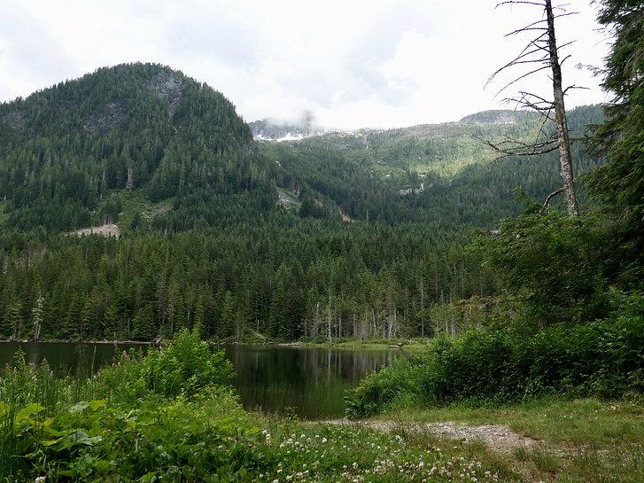 Freda Lake camp | bikepacking Freda Lake