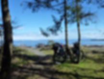 Main Lake Provincial Park Rec Camp | Cycle touring backroads of Quadra Island | cycle touring Gulf Islands