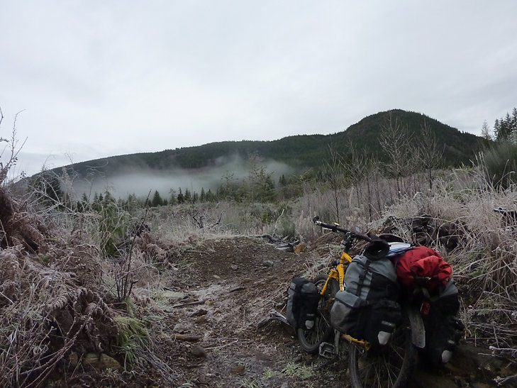 North access to East Forby Main | Bear Creek Reservoir to Jordan River | cycle touring south Vancouver Island | bikepacking