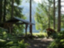 Giavanno Lake Trail camps | bikepacking Giavanno Lake