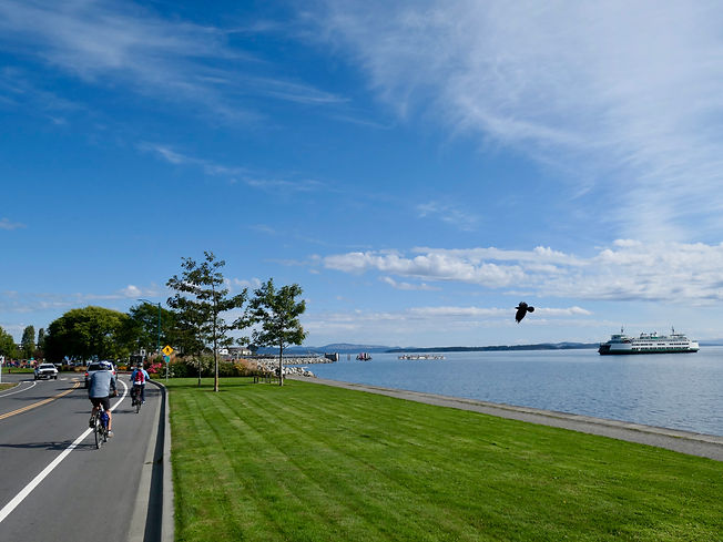 Lochside Regional Cycling Trail | Victoria to Swartz Bay Ferry Terminal | cycle touring south Vancouver Island