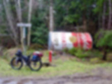 Grassy Point, NE Hornby Island | cycle touring Gulf Islands