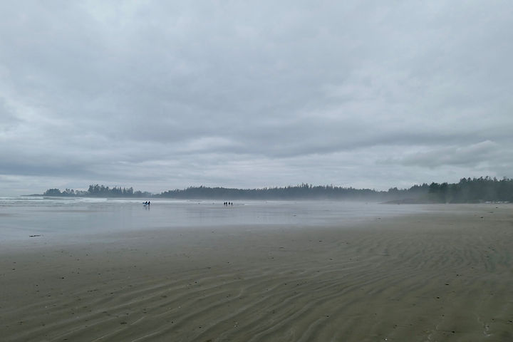 Long Beach, Green Point Campground | Pacific Rim National Park | cycle touring Tofino