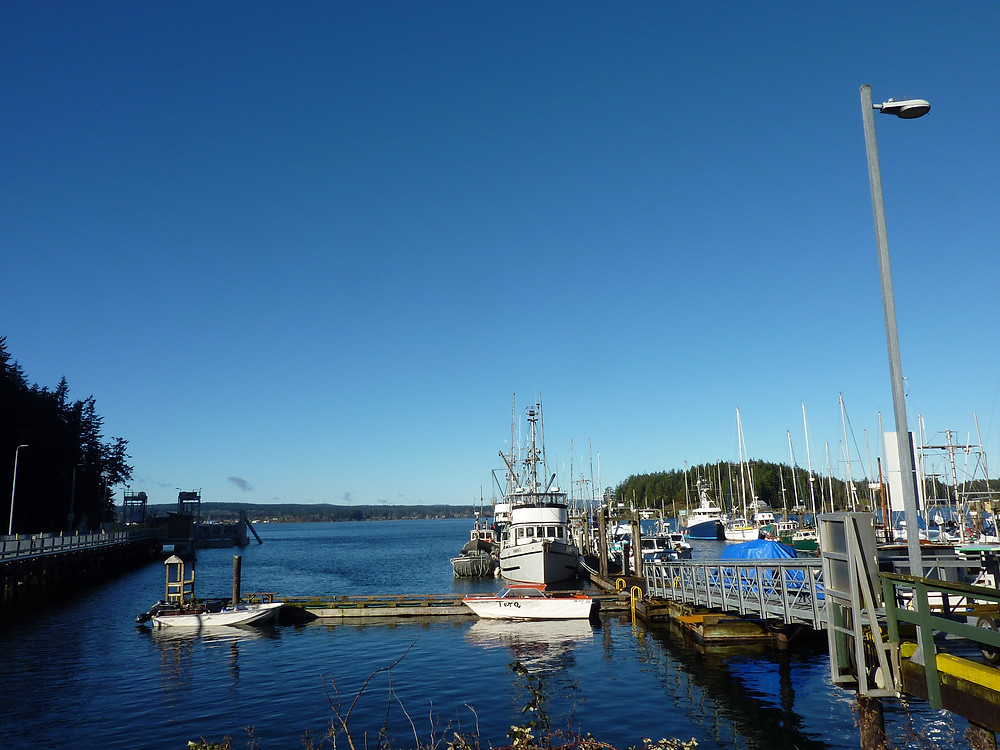 Quathiaski Harbour, East Quadra Island
