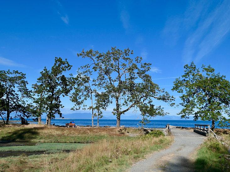Newcastle Island Marine Provincial Park, Nanaimo Harbour, bike tours