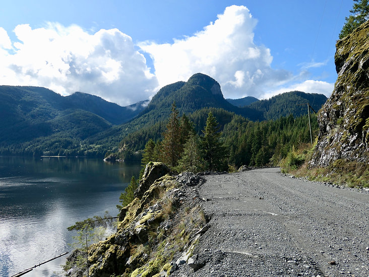Zeballos Inlet | backroads to Fair Harbour | bikepacking north Vancouver Island