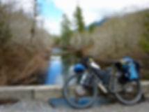 "Surly ECR 29"" bikepacking bike   Alice Lake Loop   cycle touring north Vancouver Island"