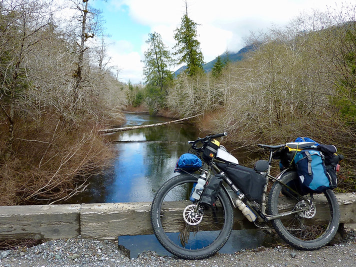 "Surly ECR 29"" bikepacking bike 