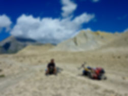 Cycle touring Upper Mustang | Thorn Nomad touring Nepal | touring bike discussion