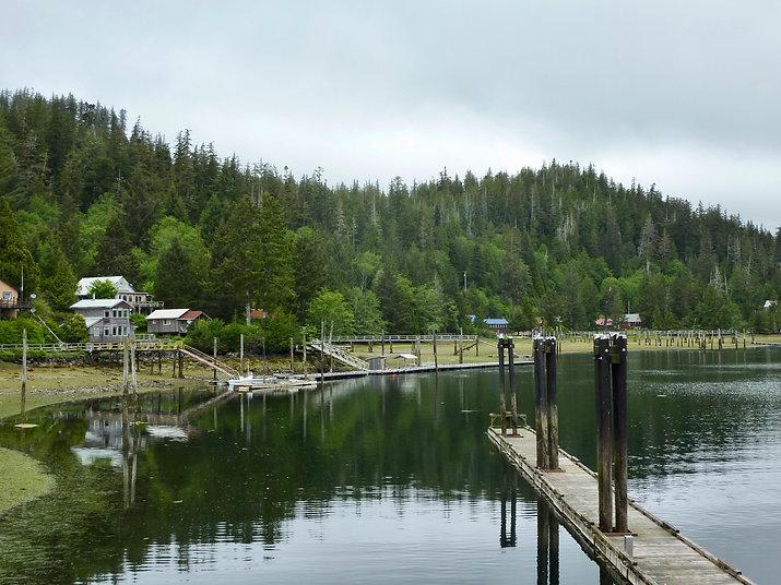 Winter Harbour docks & marina | bikepacking NW Vancouver Island