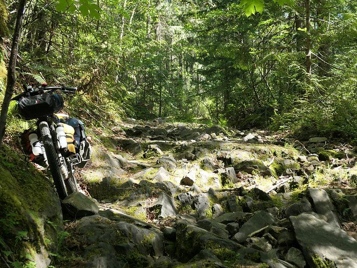 Bikepacking Port Alberni | cycle touring Port Alberni