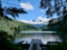 Windsor Lake portage trail | bikepacking Windsor Lake | bikepacking Powell Forest Canoe Circuit