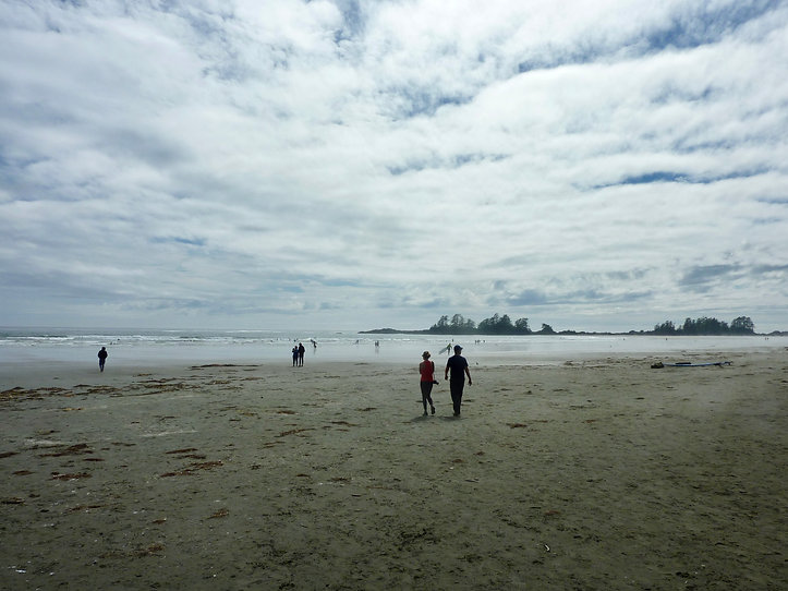Long Beach at Green Point Campground  | Pacific Rim National Park | cycle touring Vancouver Island