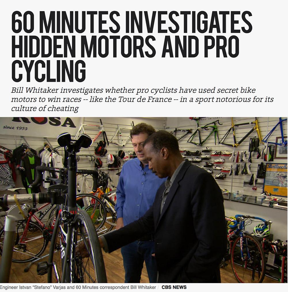Hidden motors & pro cycling