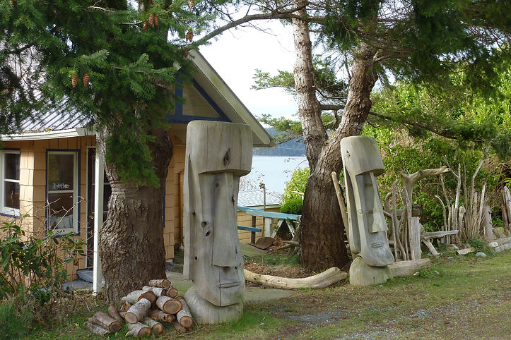 Sointula, Malcolm Island | cycle touring north Gulf Islands