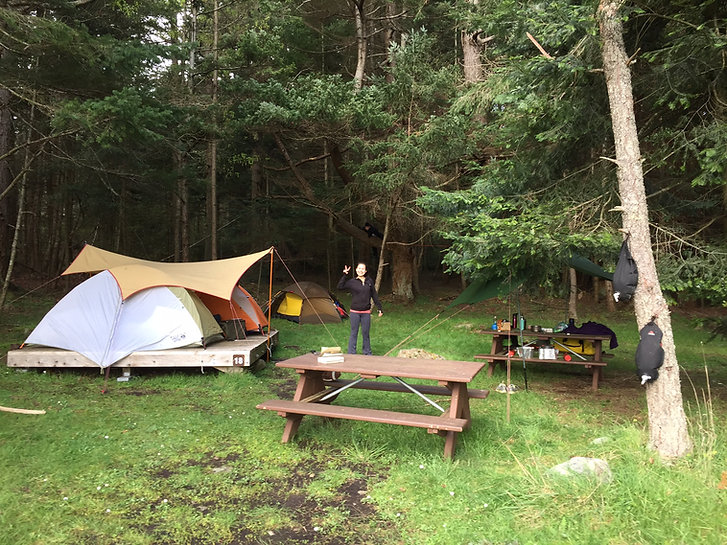 Camping at Ruckle Provincial Park | cycle touring Saltspring Island | cycle touring Vancouver Island