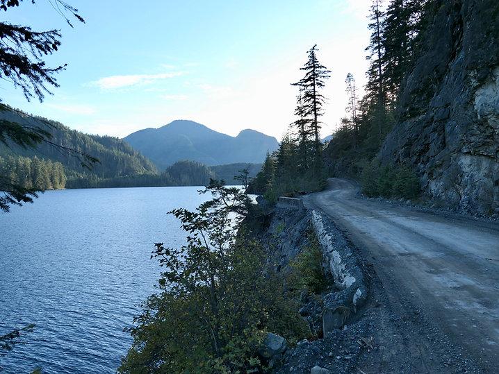 Atluck Lake Rec Camp | bikepacking north Vancouver Island | cycle touring north Vancouver Island