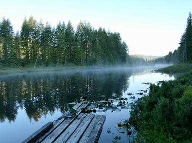 Long Lake, south of Bear Creek