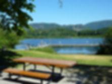 Bear Lake Park in Mesachie | cycling Lake Cowichan | cycle touring Vancouver Island
