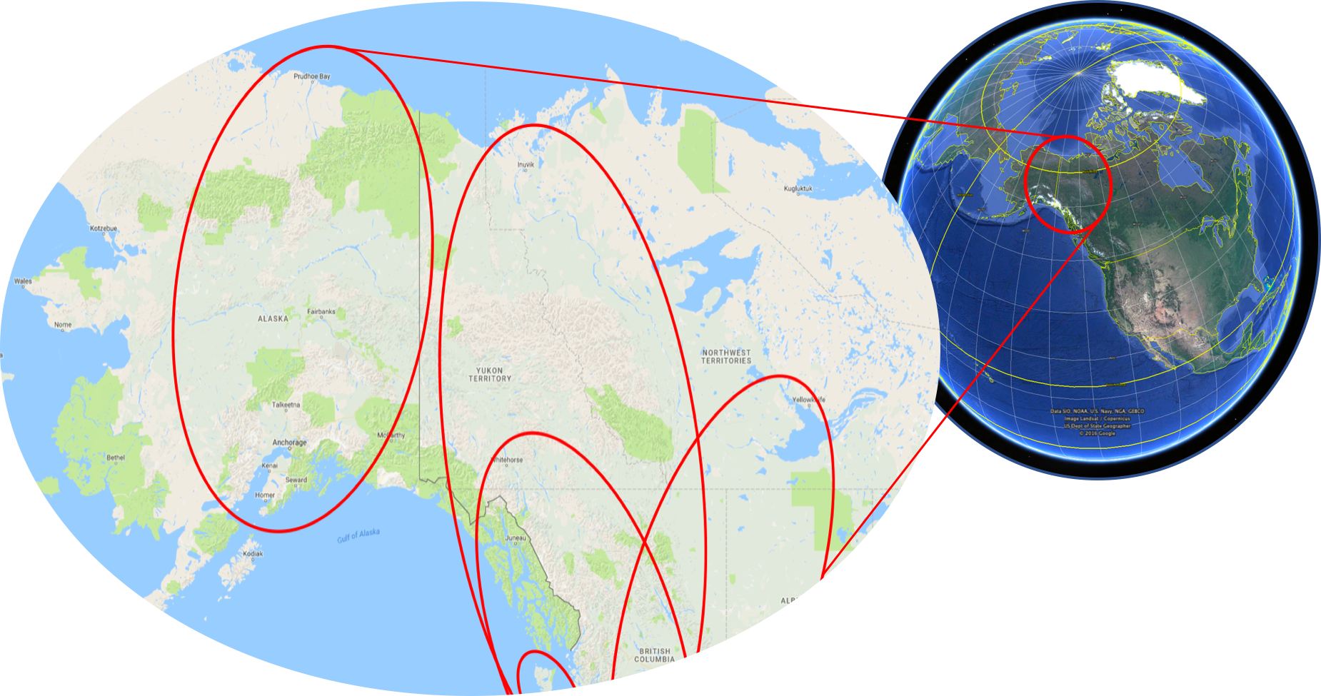 North America - the far north