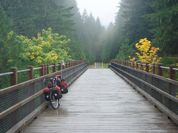 Jeff Bock custom built bike   bike discussion & review   cycle touring Vancouver Island