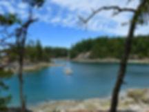Smuggler Cove Provincial Campground | north of Halfmoon Bay | bike touring Sunshine Coast
