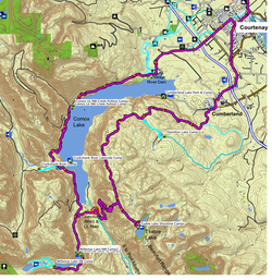 Tsable & Comox Lakes Loop