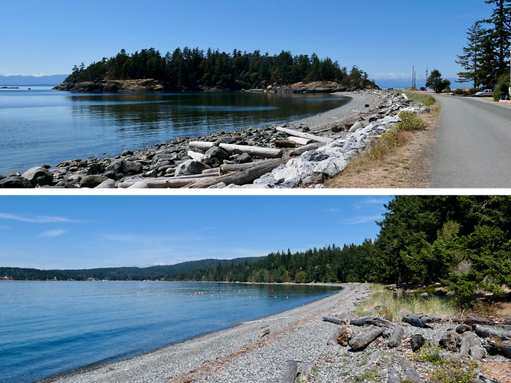 Shelter Point Regional Camp | NW Texada Island | cycle touring Gulf Islands