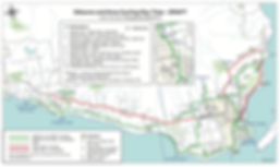 Gibsons Cycling Route Map | cycle touring Gibsons | cycle touring south Sunshine Coast