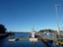 Quatiaski ferry terminal | Quadra & Cortes Islands | cycle touring Vancouver Island