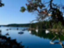 Montague Harbour Marine Provincial Campground | Galiano Island | cycling south Gulf Islands