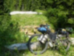 Decommissioned bridge | bikepacking backroads up Mt Washington